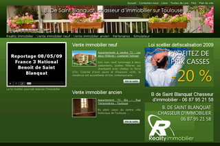 Promoteur Toulouse immobilier neuf, chasseur immobilier - Realityimmobilier.com
