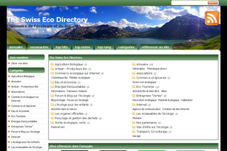The Swiss Eco Directory - Theswissecodirectory.ch