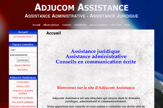 Adjucom assistance juridique - Adjucomassistance.com