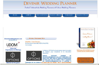 Formation wedding planner avec Devenirweddingplanner.com