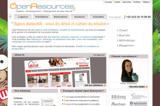 OpenResources - Agence web