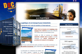 Doc-logistics.com - Transports Internationaux Logistique