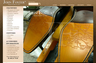 John Foster - Chaussures homme - chaussures cuir