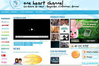 One Heart Channel - Web TV de la solidarité et de l'environnement - Oneheartchannel.fr