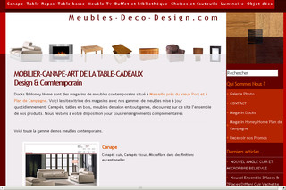 Meubles contemporains Docks - Meubles-deco-design.com