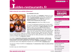 Guide des restaurants avec Guides-restaurants.fr