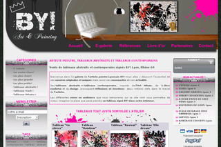 Tableaux-by.com - BY! Art Painting vente de tableaux d'art contemporain et de peintures abstraites artiste By!