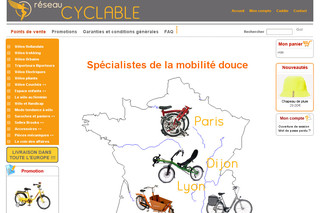 Vente de vélo hollandais - Cyclable.com