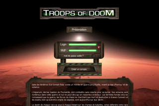 Browsergame - Troops-of-doom.net