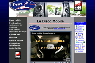 Disco mobile - Discoplus.com