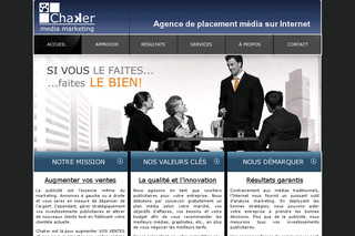 Agence de placement média sur Internet - Chakermediamarketing.com