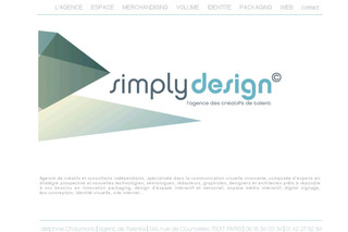 Simplydesign.fr - Communication Visuelle Packaging Design d'Espace