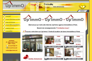 Up-immo.net - Agence Immobilière Paris Vente Appartement Paris