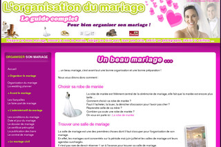 organisation mariage tout savoir sur l 39 organisation du mariage. Black Bedroom Furniture Sets. Home Design Ideas