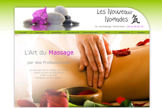 Salon de massage - Relaxation-massages.com