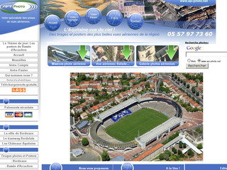 Aperçu visuel du site http://www.api-photo.net