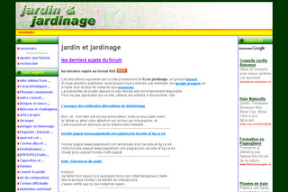 Jardinage.jg-laurent.com : forum du jardinage