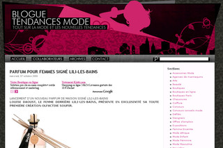 Blogue Tendance Mode - Blogtendancemode.com