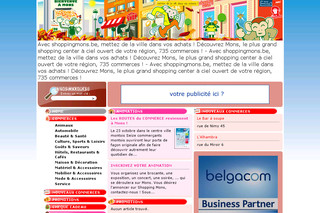 Site du commerce Montois - Shoppingmons.be