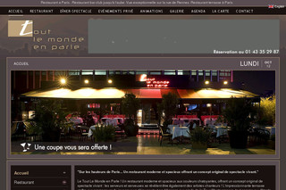 Tout le monde en parle, restaurant bar club lounge à Paris - Restaurant-tlmp.fr