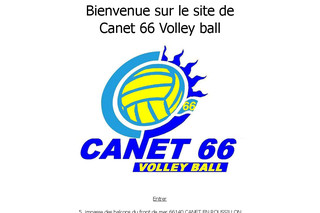 Canet 66 Volley Ball - Canet66-volleyball.com