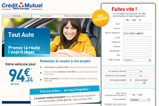 Credit.creditmutuel-nordeurope.fr - Tout Auto Crédit Mutuel
