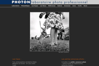 Labo-photon.fr - Laboratoire Photon