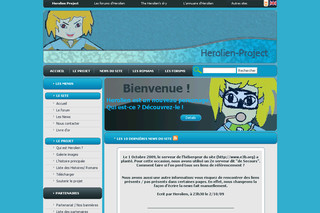 Herolien project - Roman illustré en ligne - Herolien-project.fr.nf