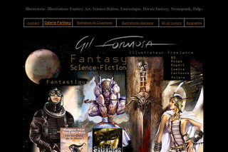 Fantasy et scIence-fiction illustrations - Fantasy.illustration.free.fr