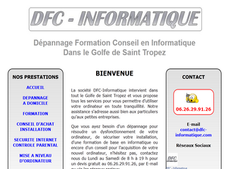 DFC Informatique - Assistance informatique à domicile - Dfc-informatique.com