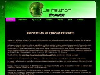 Le Newton Discomobile - Animation Dj Toulouse - Newtondiscomobile.com