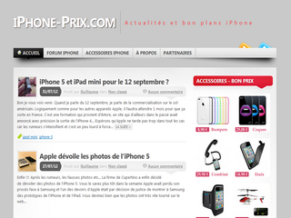 Blog iPhone - IPhone-prix.com