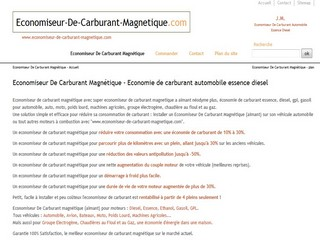 Economiseur De Carburant Magnétique - Economie de carburant automobile essence diesel - Economiseur-de-carburant-magnetique.com
