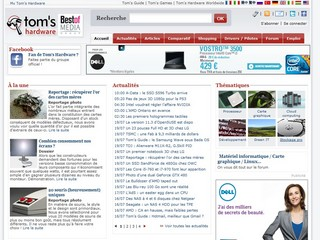 Tom's Hardware - Informatique, multimédia, Internet - Tomshardware.fr