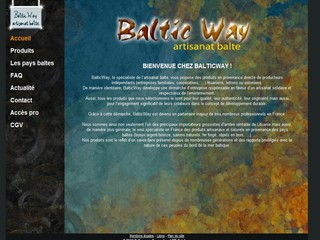 Baltic way - Bijoux en ambre - Balticwayshop.com