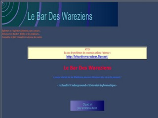 Le Bar des Wareziens (.info)